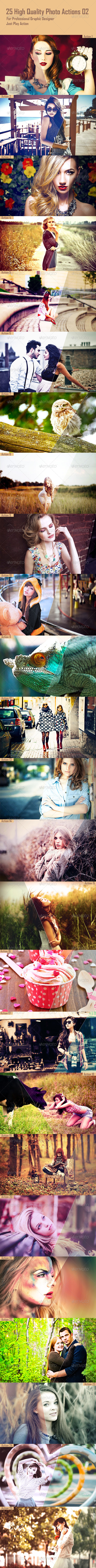 GraphicRiver 25 High Quality Photo Actions 02 8685527