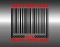 Merry Christmas barcode. - PhotoDune Item for Sale