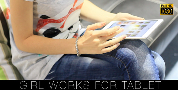 Girl Works For Tablet 23