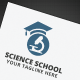 Science School Logo - GraphicRiver Item for Sale