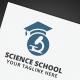 Science School Logo - GraphicRiver Item for Sale