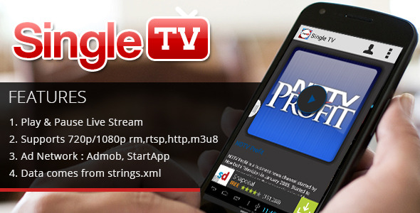CodeCanyon Single Tv 8740193