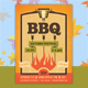 Barbecue Hipster Flyer Template