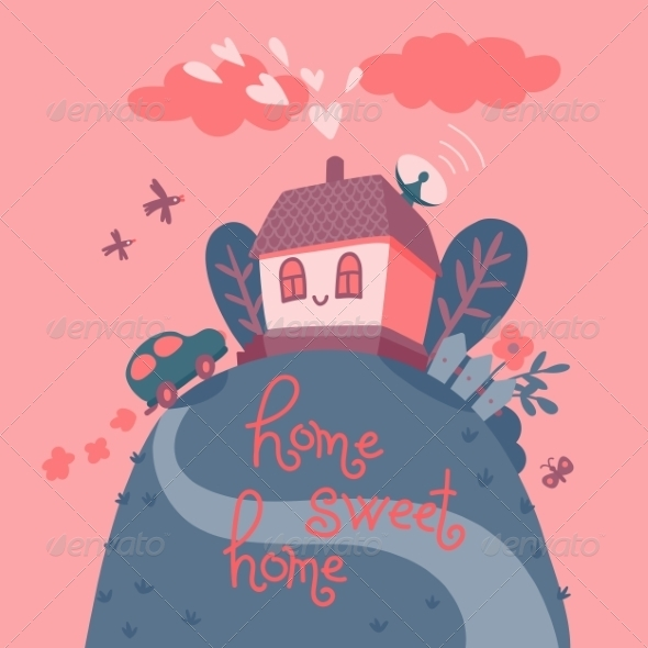 GraphicRiver Home Sweet Home 8740213