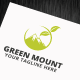 Green Mount Logo Template - GraphicRiver Item for Sale