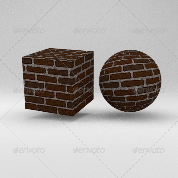 3DOcean Brick Wall 8740643