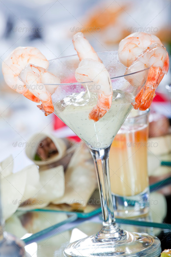 Prawn Cocktail - Stock Photo - Images