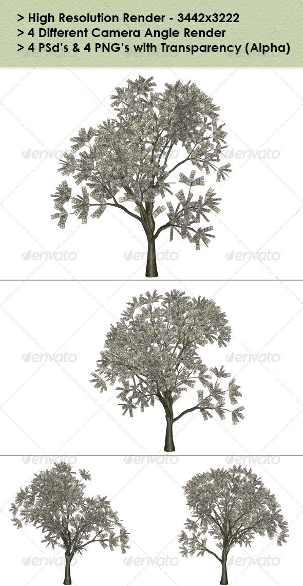 GraphicRiver Money Tree 8740659