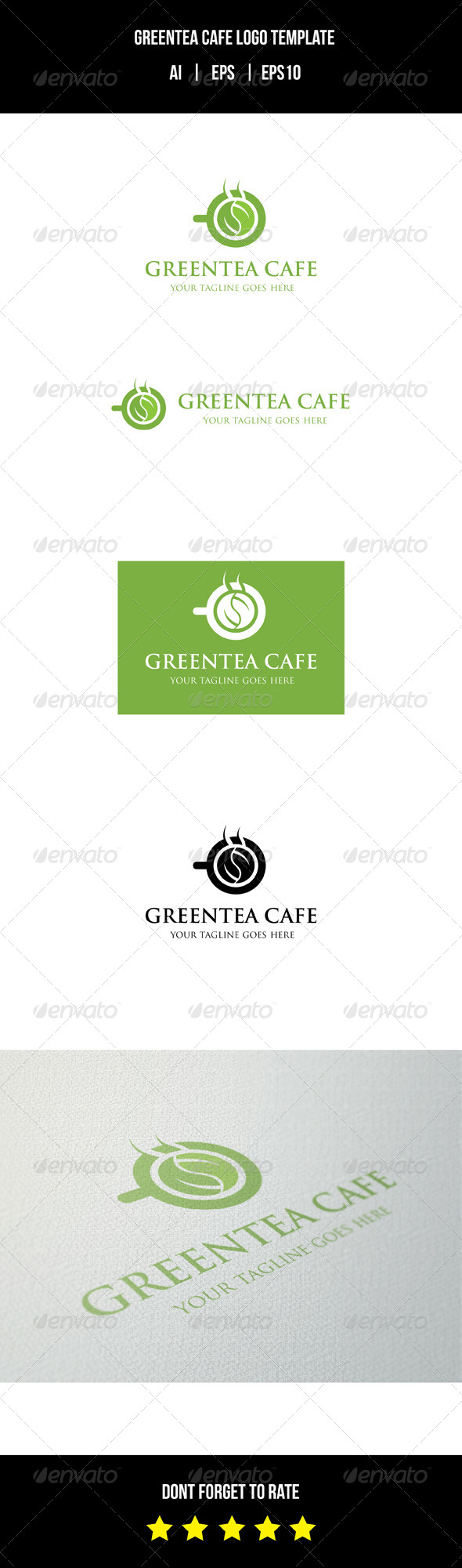 GraphicRiver Tea Cafe Logo Template 8732037