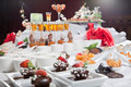 Asian Fusion appetizers and desserts on table - PhotoDune Item for Sale