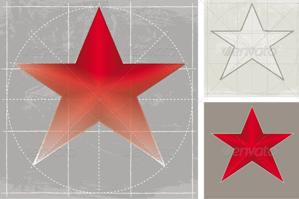 GraphicRiver Star Sketch 8741292