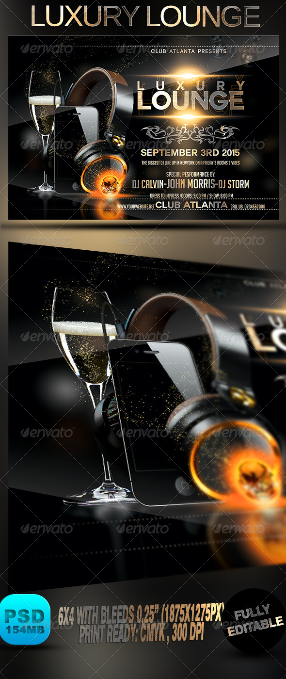 GraphicRiver Luxury Lounge 8741351