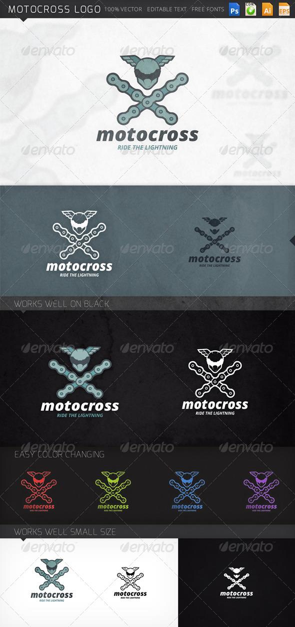 GraphicRiver Motocross Logo 8741458