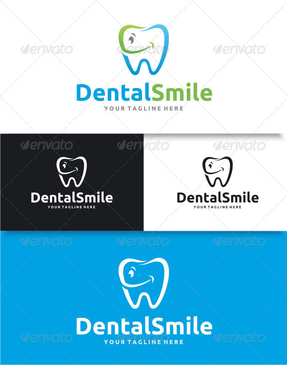 GraphicRiver Dental Smile Logo 8741705