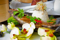 Australian Barramundi, served with fragrant Jasminerice and wil - PhotoDune Item for Sale