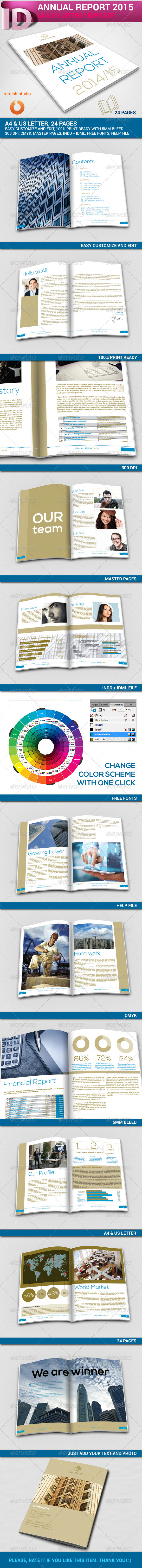 GraphicRiver Annual Report A4 US 24 Pages 8742542