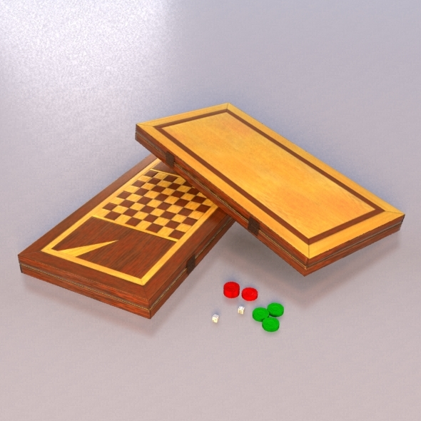 3DOcean Backgammon & Checkers 8742858