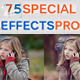 75 Special Effects Pro - GraphicRiver Item for Sale