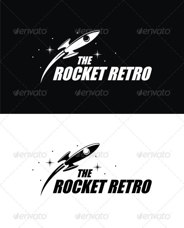 GraphicRiver The Rocket Retro 8744005
