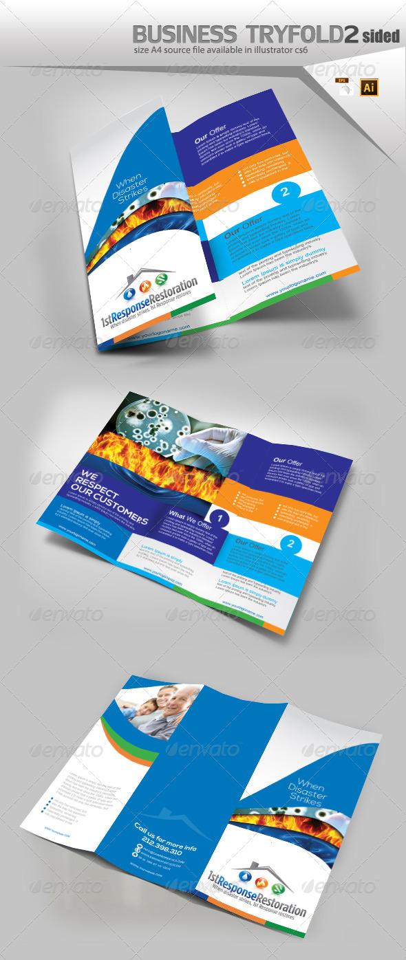 GraphicRiver Multi Purpose Try-Fold 8744006