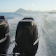 Engine Speedboat On Sea - VideoHive Item for Sale