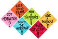 motivation reminder notes - PhotoDune Item for Sale
