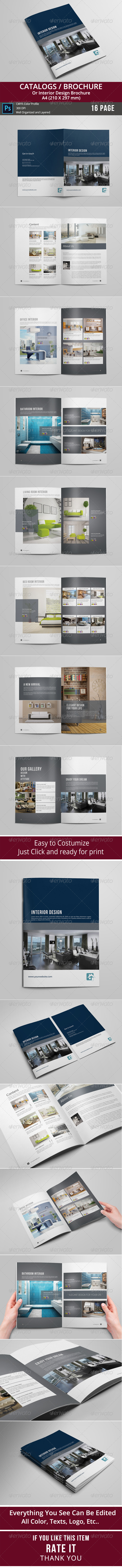 GraphicRiver Catalogs Brochure 8745388