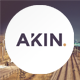 Akin - Creative One Page Joomla Template - ThemeForest Item for Sale