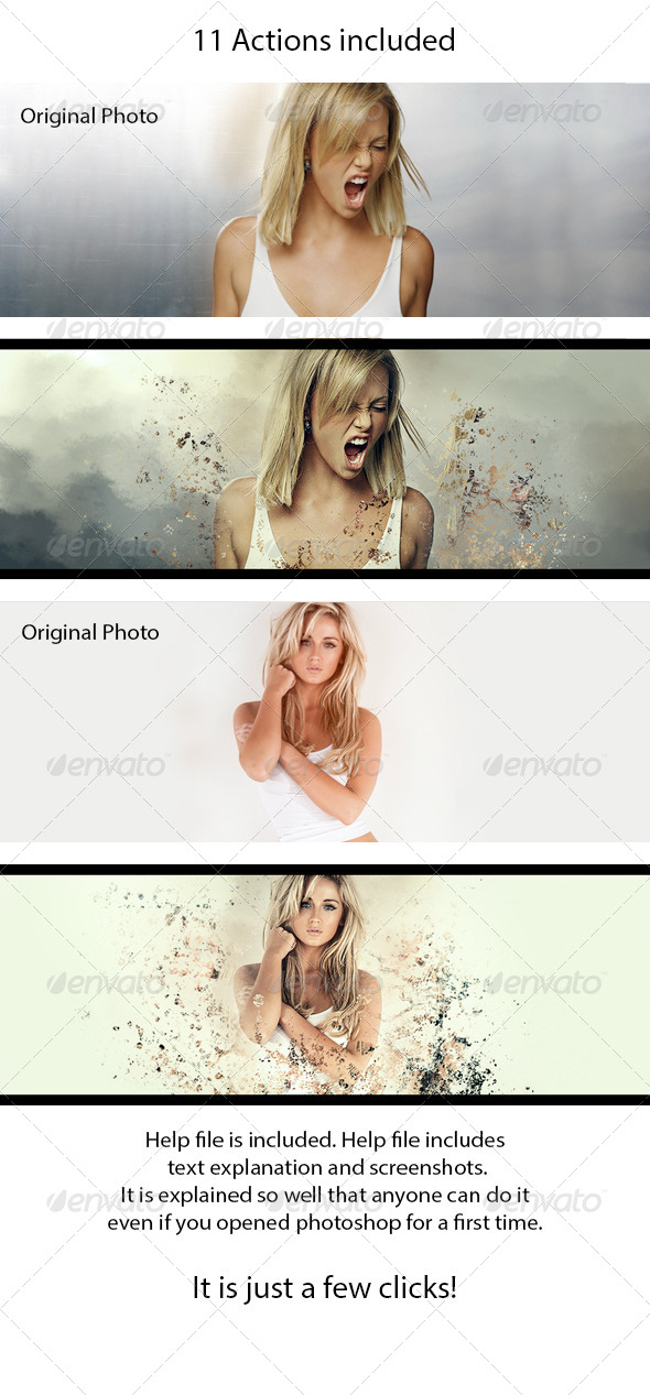 GraphicRiver Facebook Cover Effect 8734132