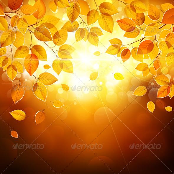 GraphicRiver Autumn Leaves 8745836