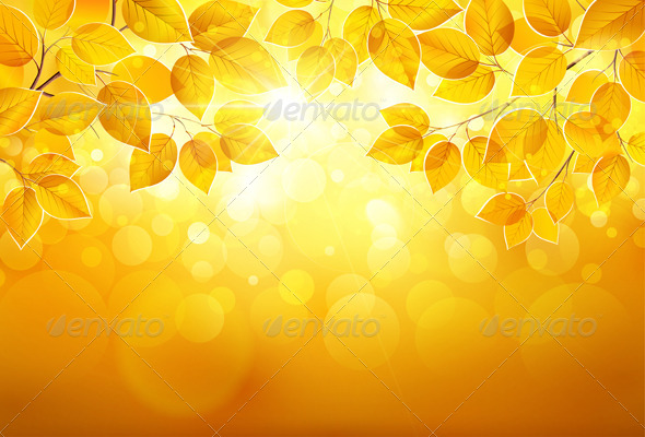 GraphicRiver Autumn Leaves 8721767
