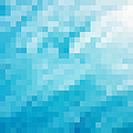 Turquoise abstract pixel background - PhotoDune Item for Sale