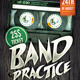 Band Practice Flyer - GraphicRiver Item for Sale