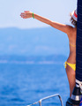 Happy woman on sailboat - PhotoDune Item for Sale