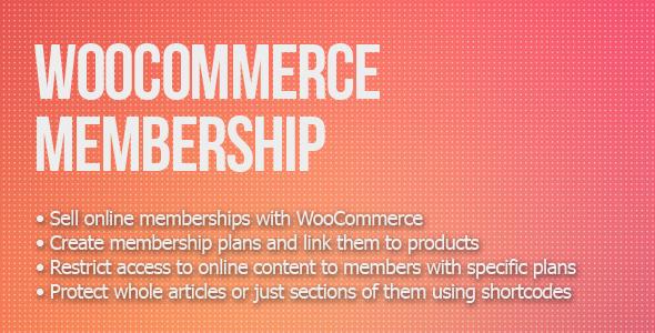 CodeCanyon WooCommerce Membership 8746370