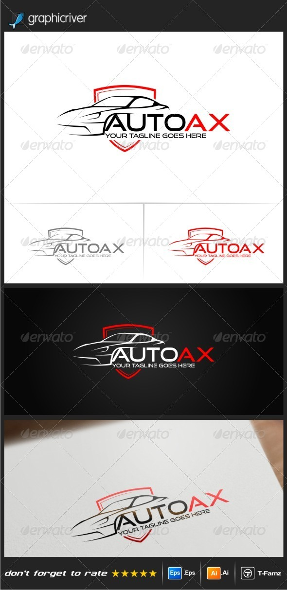GraphicRiver Auto Ax Logo Templates 8694909