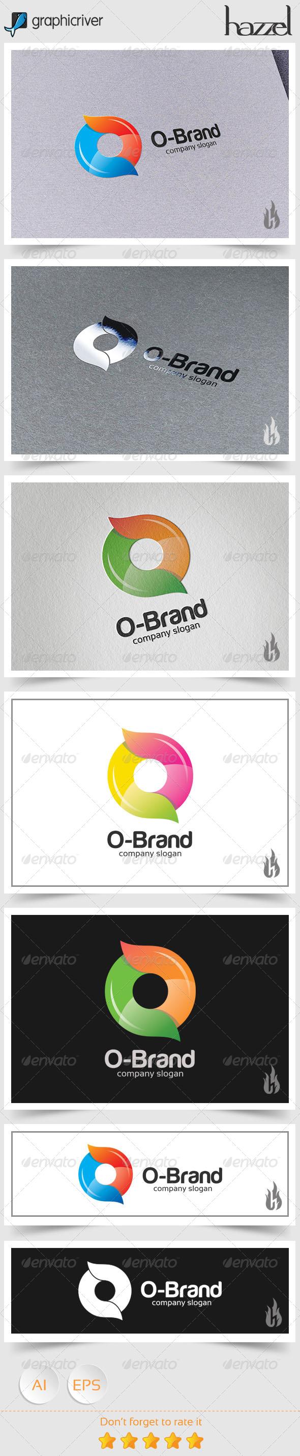 GraphicRiver O Brand Logo 8746750