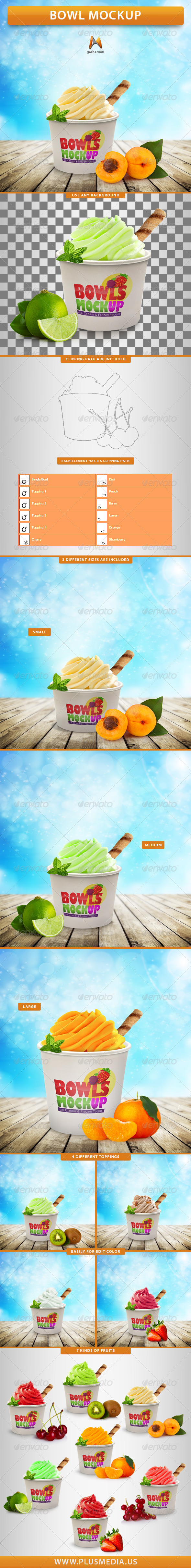 GraphicRiver Bowl Mockup 8746986