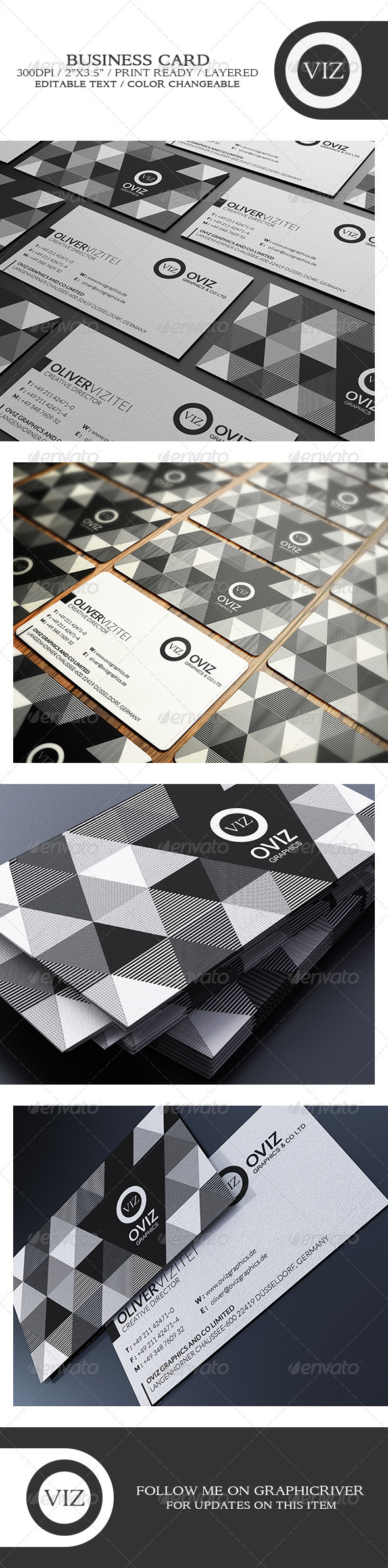 GraphicRiver Classy Business Card 8747186