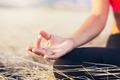 Yoga Woman Meditation - PhotoDune Item for Sale