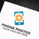 Phone Photos Logo Template - GraphicRiver Item for Sale