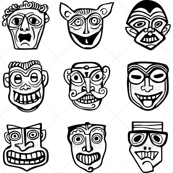 GraphicRiver Masks 8747319