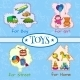 Toys Icons Composition - GraphicRiver Item for Sale