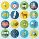 Veterinary Icons Set - GraphicRiver Item for Sale