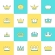 Crown Icon Set - GraphicRiver Item for Sale