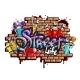 Graffiti Word Characters Composition - GraphicRiver Item for Sale