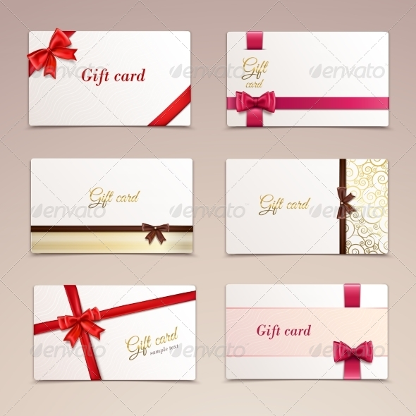 GraphicRiver Gift Cards Set 8747549