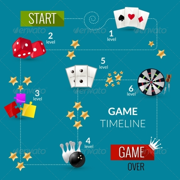 GraphicRiver Game Process Illustration 8747566