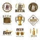 Beer Golden Emblems - GraphicRiver Item for Sale