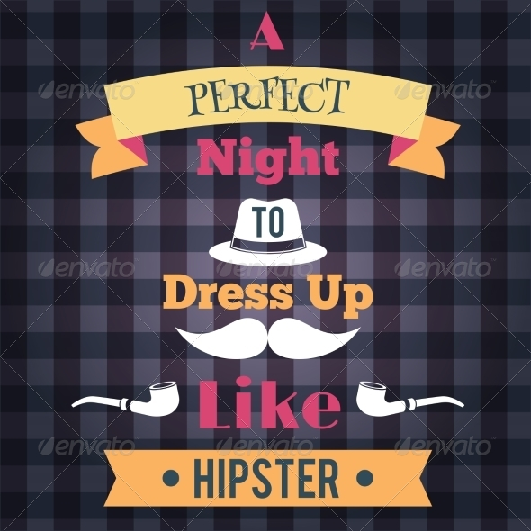 GraphicRiver Hipster Retro Poster 8747577